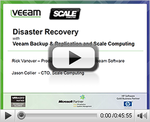 Disaster Recovery with Veeam Backup & Replication and Scale Computing